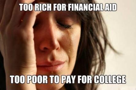 Financially lukewarm.
