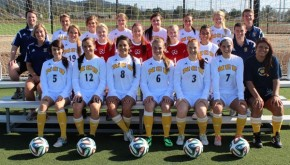 NCU women's soccer team 2014
