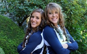 Seniors, Alyssa and Chelsea. Picture Credit: gobeacons.com