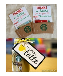thanks a latte collage