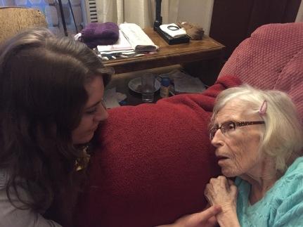 grandma and i